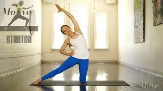 Move 123 Stretch Your Body parts - Stretches for the back and lower back 30 Minutes