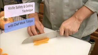 Knife Skills 101, Lesson #2: Safe Cutting Technique, and cutting peppers
