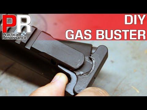 DIY AR15 Charging Handle Suppressor Mod!