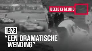 Crash bij F1 Grand Prix op Zandvoort (1973)