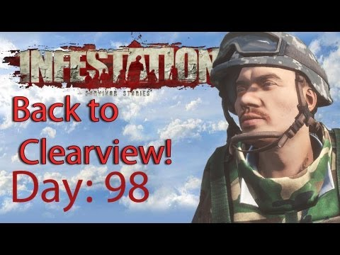 Infestation Survivor Stories Day 98 Back to Clearview!