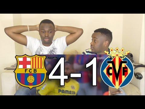 Barcelona vs villarreal 4-1 - all goals highlights - la liga: live reaction by mnt