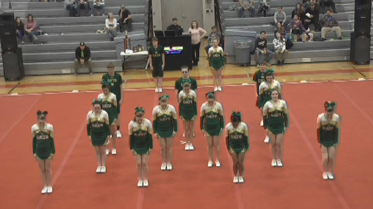 Section VII and CVAC Cheerleading  2-8-18