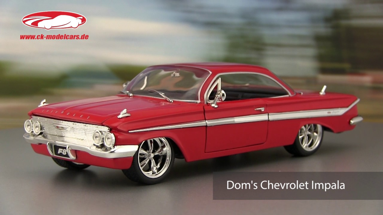 Ck Modelcars Video Dom S Chevrolet Impala Fast And Furious