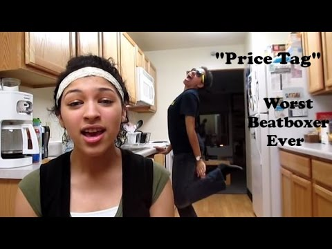 """Worst Beatboxer Ever Covers """"Price Tag"""" By Jessie J"""