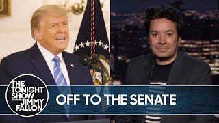 Trump Impeachment Moves to Senate | The Tonight Show