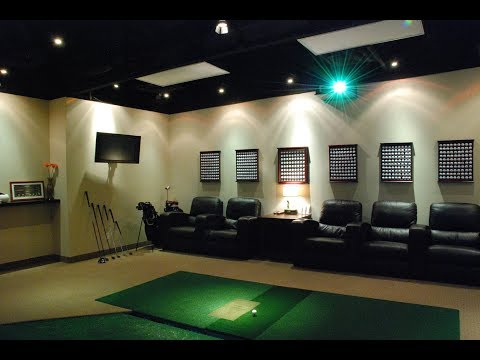 The Ultimate Golfers Man Cave
