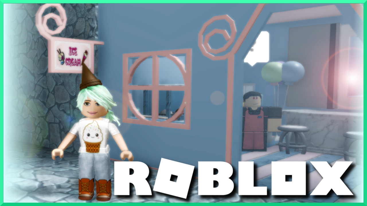 My First Day On The Job Roblox Escape The Ice Cream Shop Obby
