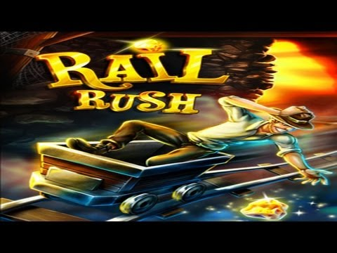 Rail Rush - iPhone/iPod Touch/iPad - HD Gameplay Trailer