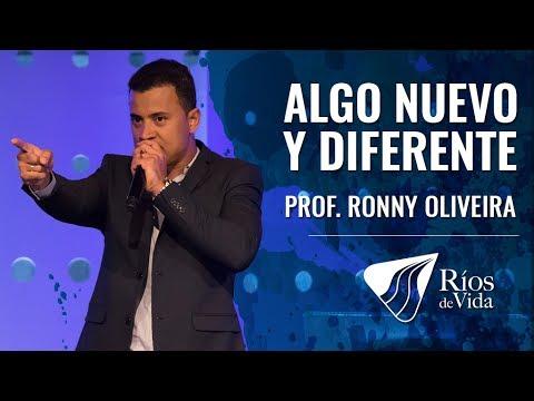 Profeta Ronny Oliveira - Algo Nuevo y Diferente Para Ti