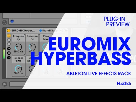 Plug-in Preview: Free Bass Mixing Effects Rack for Ableton Live