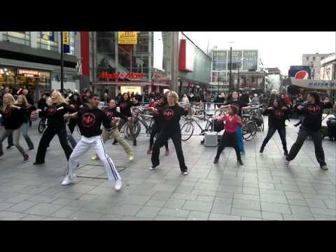 Zumba flashmop thv media markt F4F rotterdam taraz 14-01-2012