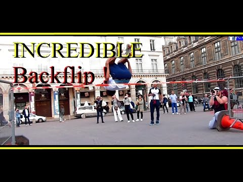 Roller Freeskate Paris (Inline Skating) - Backflip, Style Sèche, jumping, Street pro,quad 2016
