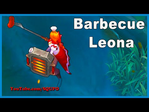 Barbecue Leona - New Skin (League of Legends)