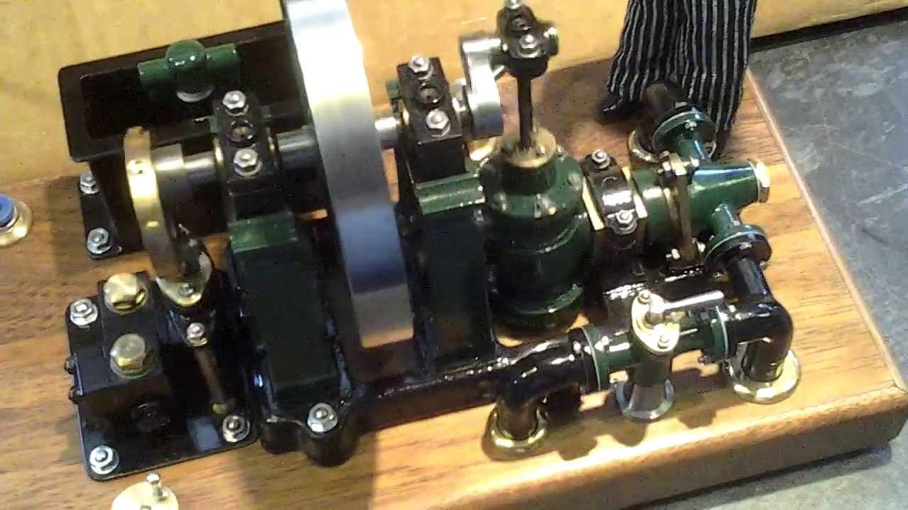 Hick & Son Oscillating Engine (1851) - Hemingway Kits - YouTube