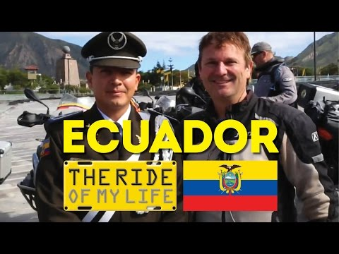 Ecuador Earthquake Relief by Adventure Motorcycle - The Ride of My Life