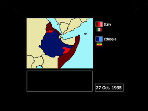 [Wars] The Second Italo-Ethiopian War (1935-1936): Every Day