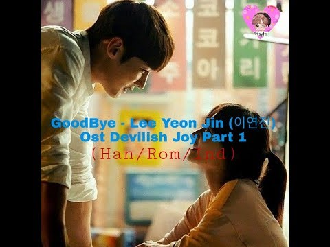Goodbye - Lee yoon jin (이윤진) [Devilish Joy OST] (Han/Rom/Ind)