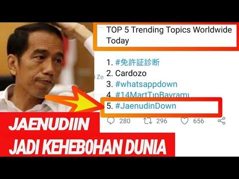 DUH, M4LU LAG! N!H;#JaenudinDown TRENDING TOPIC DUNIA;MAKIN PANIC;PILPRES 2019;PRABOWO SANDIAGA