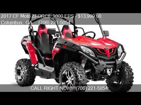 2017 cf moto zforce 1000 eps for sale in columbus ga. Black Bedroom Furniture Sets. Home Design Ideas