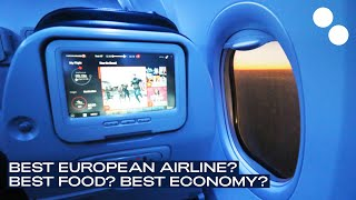Top 10 Airlines - TURKISH AIRLINES B737-800 NEW ECONOMY  LUXEMBOURG - ISTANBUL