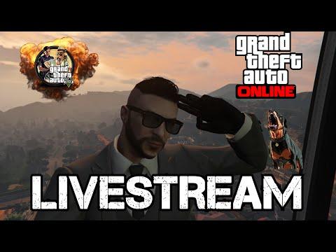 GTA V Online random Jobs & Freemode LIVE #10