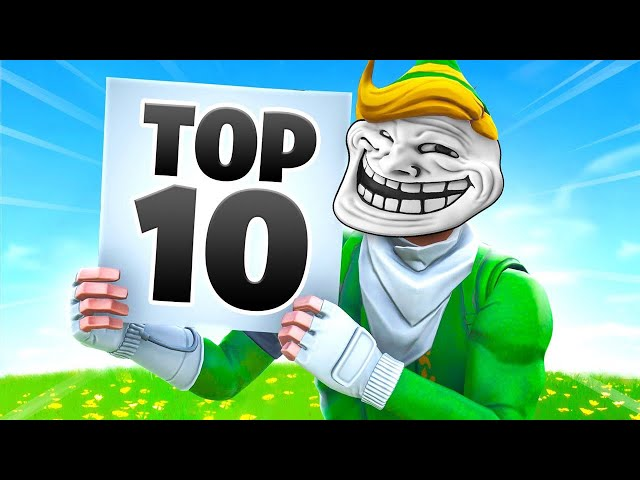Lachlan's TOP 10 Fortnite Funny Moments!