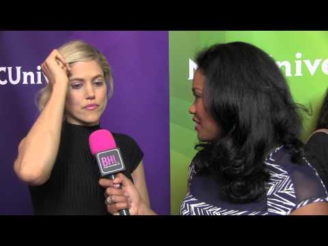 Charity Wakefield @ NBC Universal Press Tour  Black Hollywood Live