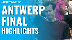 Andy Murray beats Stan Wawrinka to Win Antwerp Title! | European Open 2019 Final Highlights