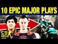10 Insane Pro Plays From CS:GO Major Krakow 2017