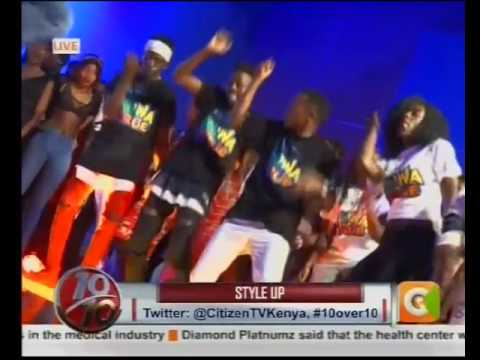 Love from France! DJ Lady Style holding it down on #10Over10