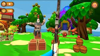 Apple Shooter Challenge 3D 2018 - the archery game - Gameplay