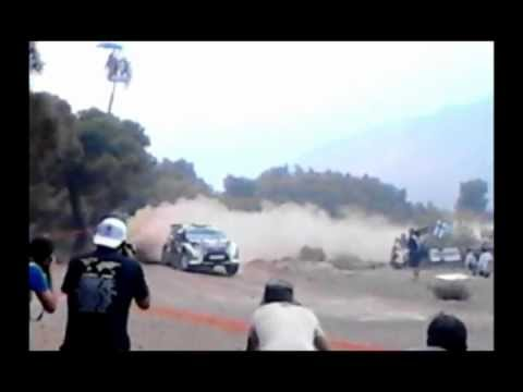 ALCATEL ONE TOUCH OT 918D - Video Recording Sample - ACROPOLIS RALLY 2012