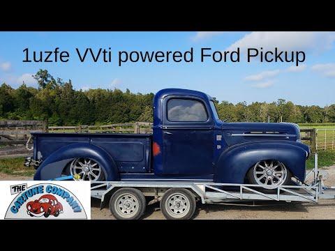 47 Ford Pickup truck to 1uz VVti Toyota V8 wiring. Part 2