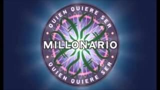 Quien Quiere ser millonario (Canción Inicial)