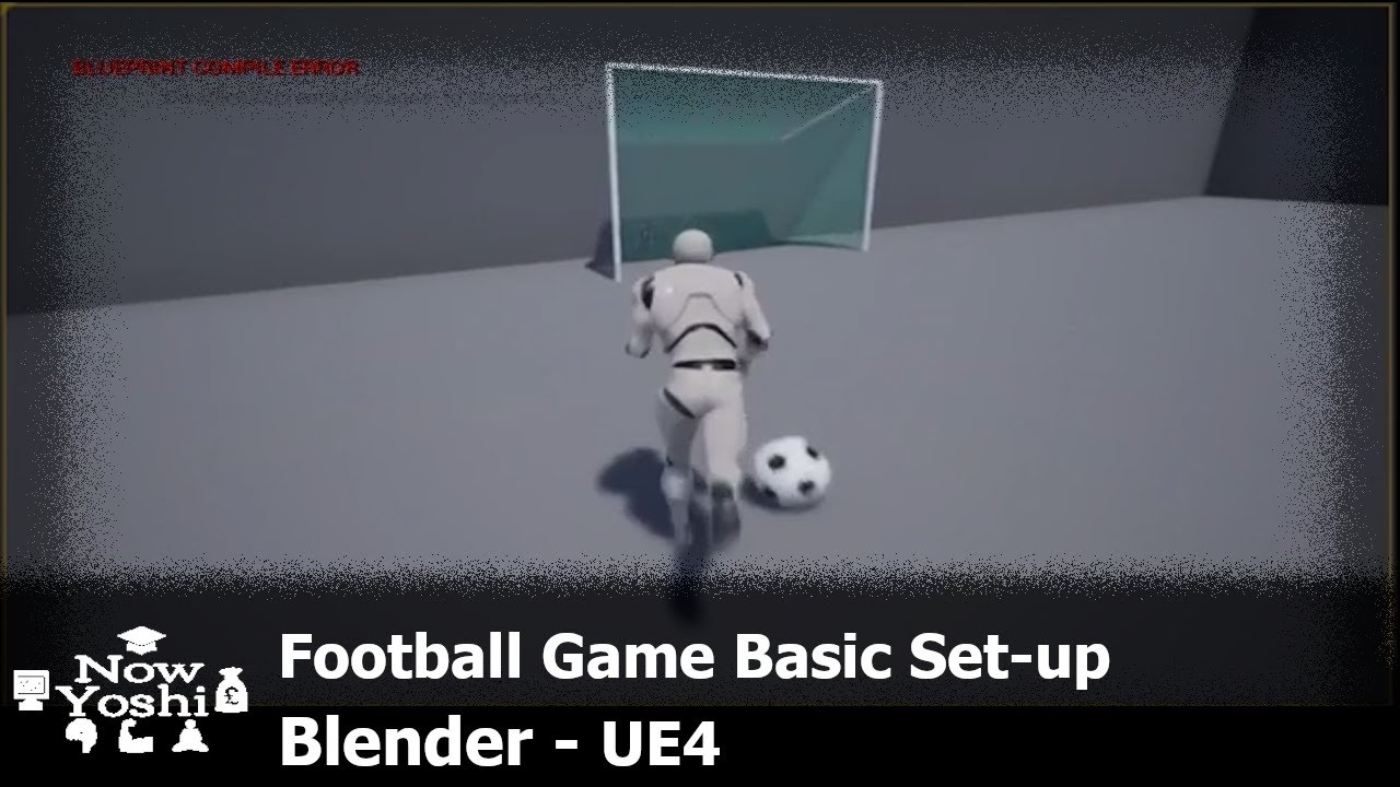 Football Physics + Kick + Free FBX Mesh - Tutorial - Unreal Engine 4