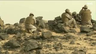 فيديو..اشتباكات عنيفة بمحاول اختراق للحدود السعودية مع اليمن