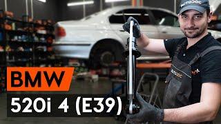 Cum înlocuim telescopul amortizorului din spate pe BMW 520i (E39) [TUTORIAL AUTODOC]