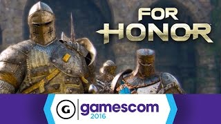For Honor - Viking, Samurai, and Knight Factions Gamescom 2016 Trailer