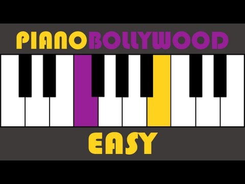 Kal Ho Naa Ho - Easy PIANO TUTORIAL - Stanza (मुखड़ा)