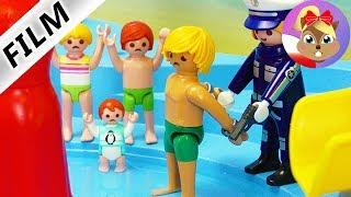 Playmobil Film polski | WŁAMANIE w AQUAPARKU & TATA aresztowany?! | Serial Wróblewscy