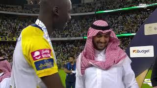 تتويج النصر ببطولة كأس السوبر السعودي 2020م
