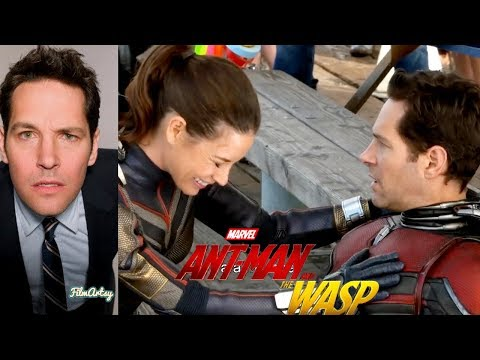 Paul Rudd Hilarious Bloopers and Gag Reel  AntMan & The Wasp Special