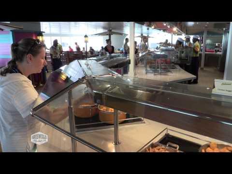 Disney Cruise Line - #004 Cabanas Dining Review On Disney Cruise Line