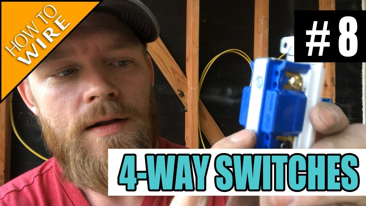 Episode 8 How To Wire For And Install 4 Way Switches Youtube 201307061434233wayand4wayswitchwiringjpg Electricianclasses Electricaltraining Electriciantraining
