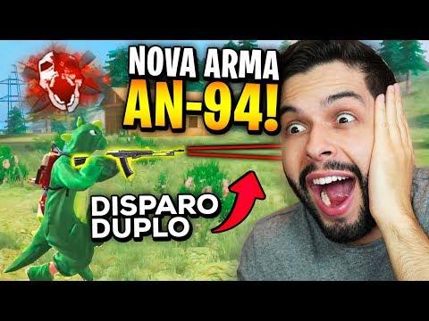 MELHOR QUE GROZA?? CONFIRMADA NOVA ARMA AN-94 NO FREE FIRE