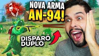 MELHOR QUE GROZA?!? CONFIRMADA NOVA ARMA AN-94 NO FREE FIRE!!!