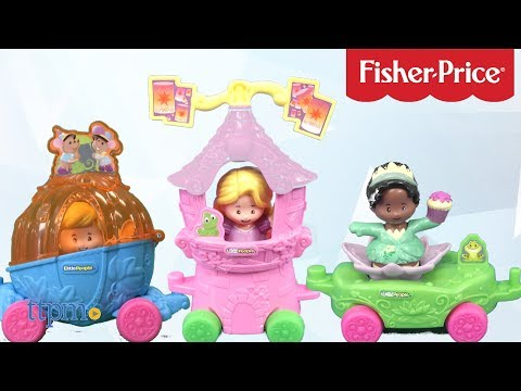 Little People Disney Princess Parade Floats From Fisher-Price