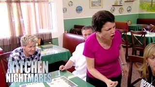 Family Argument Breaks Out Before Gordon Gets To Eat | Kitchen Nightmares