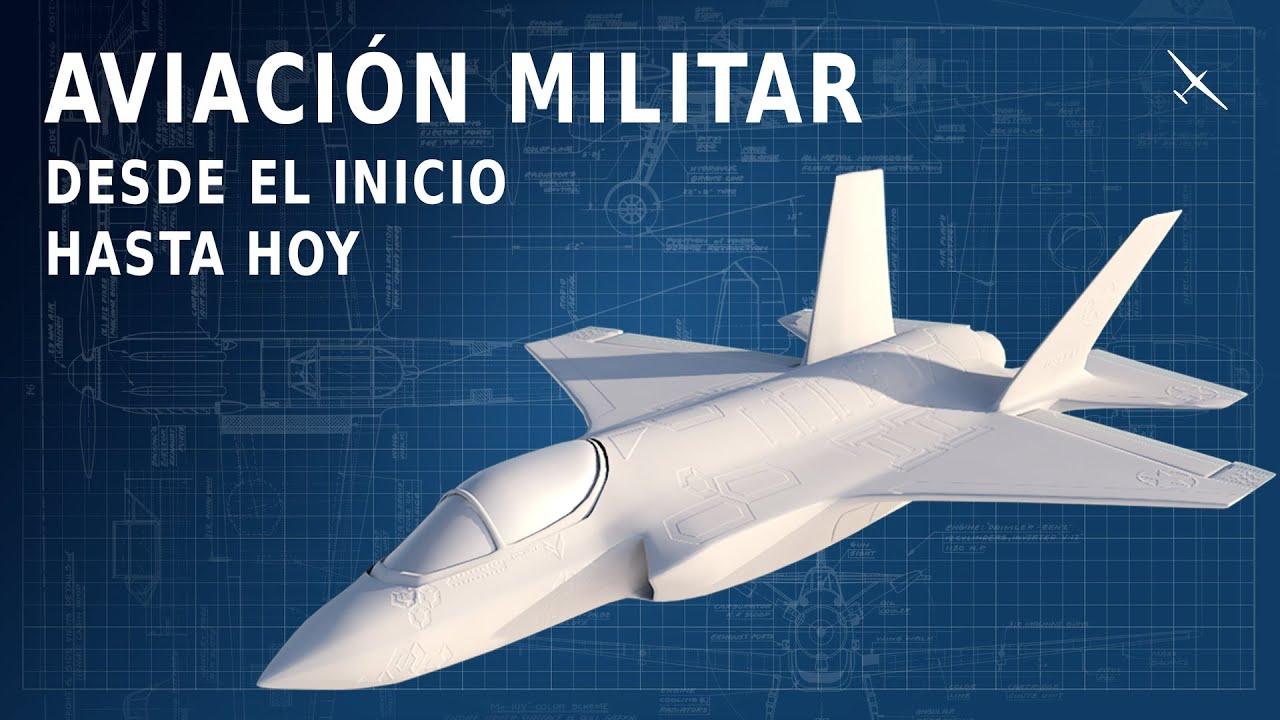 Toda la historia de la aviación militar en 12 minutos